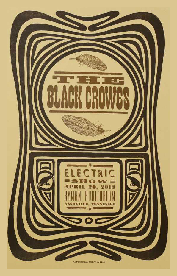 2013 04 20   sat black crowes nashville TN ryman w frampton EDITED 01